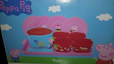 Toy tea set for 4 ~ Peppa Pig toy Tea set plastic play toy