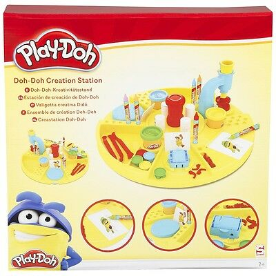 Play-Doh 4 in 1 Creation Station, Kids Modelling Dough Craft & Play Set