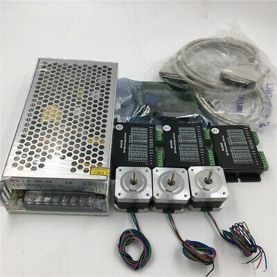 3Axis Nema17 CNC Stepper Motor Driver Kit 40oz.in CNC milling laser XYZ Axis Set
