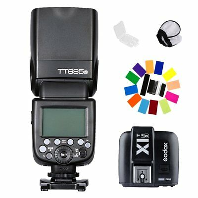 CA SHIP Godox TT685S 2.4G HSS TTL II GN60 Flash + X1T-S Trigger for Sony