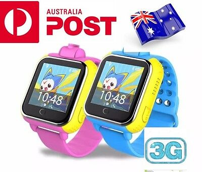 3G Children Smart Watch GPS Tracker SOS Call Kid for Android iOS iPhone Samsung