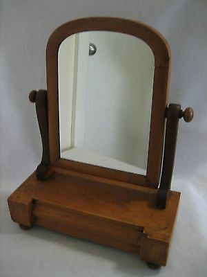 Antique Wooden Dressing Table Swivel - Mirror