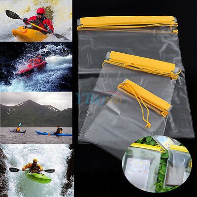 3pcs Waterproof Dry Bags for Camera Mobile Phone iPad Pouch Backpack Wallet