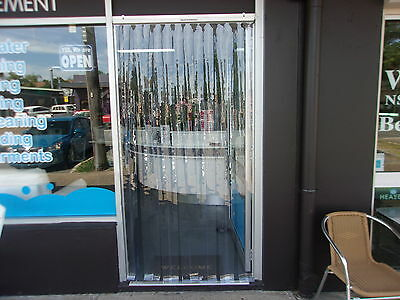 PVC INSECT / ENTRY STRIP Curtain DOOR 910mm wide x 2100mm long