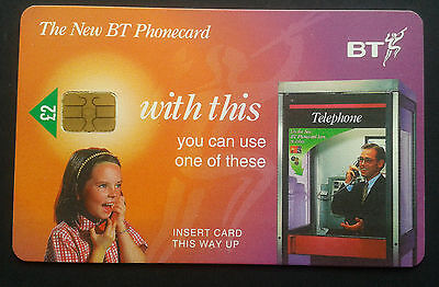 Bt Phonecard Used £2 The New Bt Phone Card