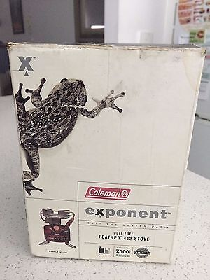 Colemen exponent Dual Fuel hiking stove