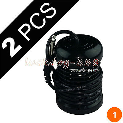2 Black Round Arrays for Ionic Detox Foot Bath Spa Cleanse Machine Accessories