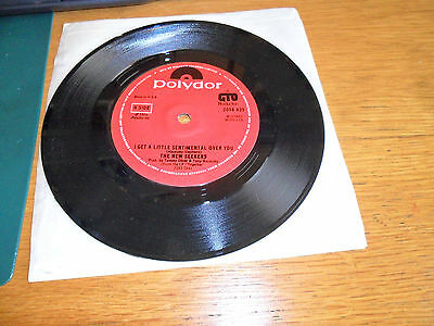 """The New Seekers - I Get A Little Sentimental Over You - 7"""" Vinyl Record"""