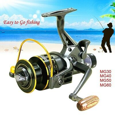 10+1BB Ball Bearing Bait Casting Left/Right Handle Spinning Fishing Reel Bass