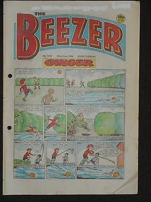 The Beezer Comic 22nd June 1985 (Issue 1536)