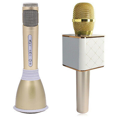 Neu Karaoke Microphone Mic Player Home KTV Bluetooth Speaker Handheld Q7/K068