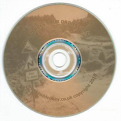 Hypnotherapy CD Time to Pass your DRIVING TEST Hidden Key Hypnosis hypnotism