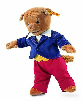 Steiff Algy Pug from Rupert the Bear Dressed Toy Christmas Gift, 017056
