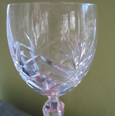 Set Of 5 Lovely Lead Crystal Sherry Glasses