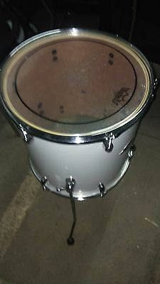 "Tom Base Pearl 14""x14"" Export Floor Tom #33 Pure White"