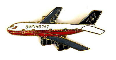 AIRLINE Pin / Pins - BOEING 747 [2050D]