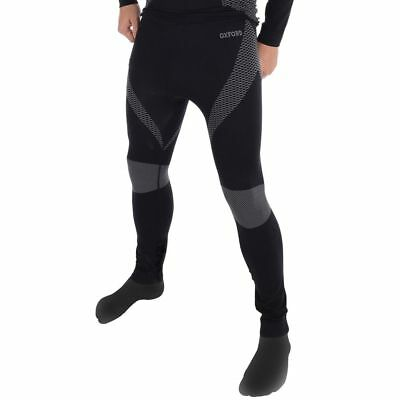 Oxford Layers Base Layer Knitted Thermal Motorcycle Pants - Black