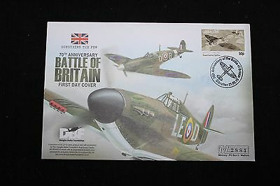 First Day Cover - 70th Anniversary of the BATTLE OF BRITAIN