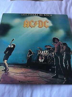 """AC/DC Let There Be Rock 12"""" LP"""