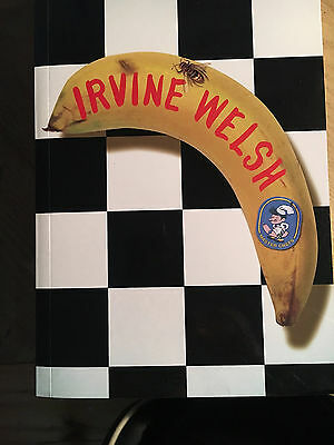 Signed mint edition 'Bedroom Secrets of the Masterchefs' by Irvine Welsh