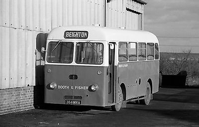 Bus Negatives  Booth And Fisher Black & White Negatives Strip Of 4