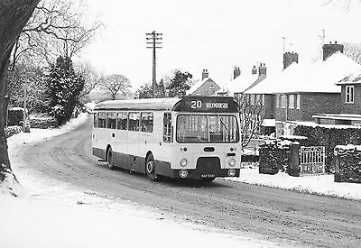 Bus Negatives  Chesterfield  Black & White Negs Strip Of 5