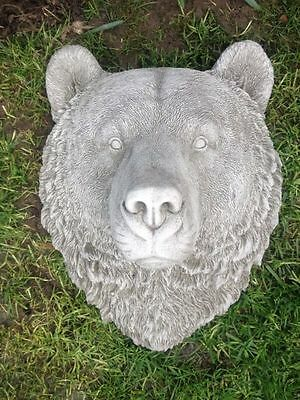 Latex Rubber Mould Mold Molds Of a Stunning Detailed Bear Head Wall Plaque Mould