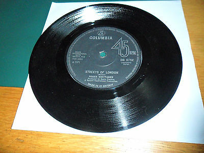 """Roger Whittaker - The Streets Of London / Why - 7"""" Vinyl Record"""