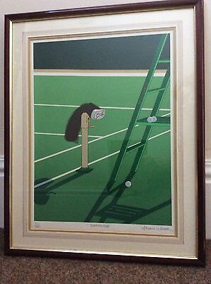 Slazenger, Tennis Limited Edition Framed Screen Print by Michael Potter