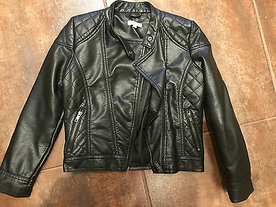 Dont Miss*! Bluezoo Girls Biker Jacket, Age 8, Fab Condition, Great Presie