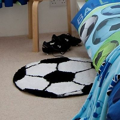 Catherine Lansfield It's A Goal Football Rug Kids Bedroom Decor Free P+P