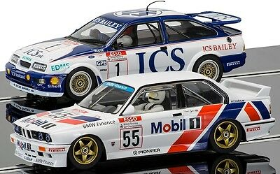 Scalextric 1:32 C3693A Touring Car Legends Twin Pack (Sierra & Bmw) *new*