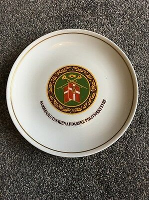 Association of Danish Police Orchestras Commemorative Plate