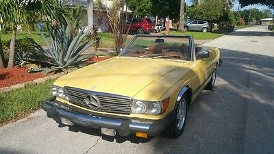 1979 Mercedes-Benz SL-Class 450SL 1979 Mercdes 450 SL - Well Maintained New Tires,  Fresh Service, Cold A/C