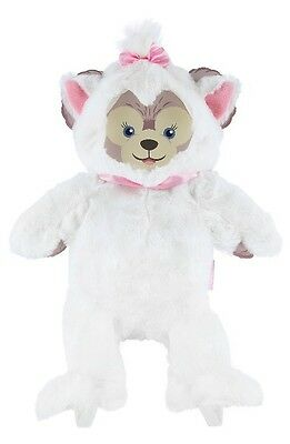 """ShellieMay Marie Costume Outfit 17"""" The Aristocats Duffy Bear Plush Disney Parks"""