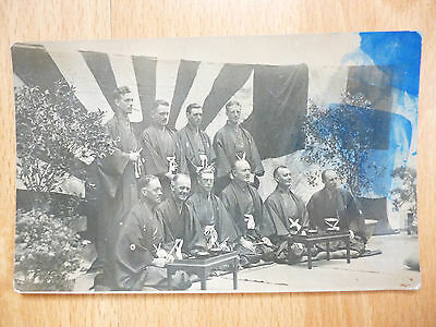 1922 Edward Prince Of Wales In Japan With White Men Possibly Crew Of Hms Renown