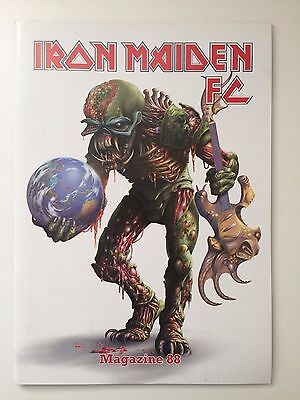 Iron Maiden FC Fan Club Magazine #88 Mag IMFC+ Poster + 2010 Christmas Card