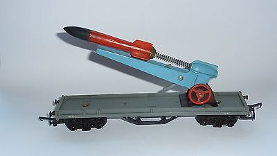 Triang Rocket launcher wagon R212 complete with Rocket