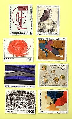 France Lot De Timbres A 5F Neuf** Annee 1986/93
