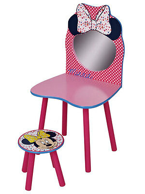 ARREDO CAMERETTA Minnie Mouse Dressing Table and Chair