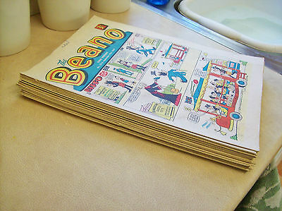 20 old Beano Comic's, all dated between 1967-1969