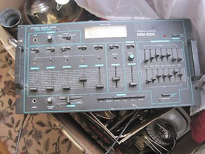 realistic 55m-2100 stereo sound mixer