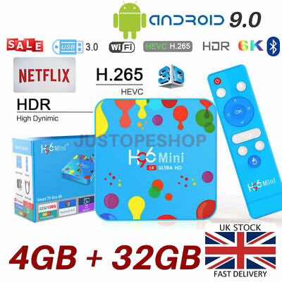 T95Z Plus S912 2GB+16GB Octa Core Android 7.1 TV Box 2.4/5Ghz Dual Band WIFI UK