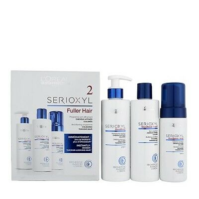 L'oreal Professionnel Serioxyl Kit 2 For Coloured Thinning Hair