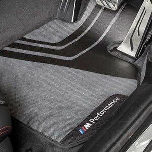 BMW M Performance Front Mats Set F32/F33 4 Series 51472407306 Right hand drive