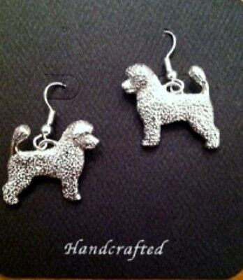 Portuguese Water Dog lovers EARRINGS~ adorable!  Porty portie