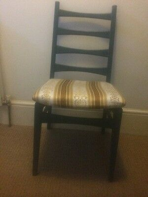 1960s/70s Ladderback Chair Refurbished