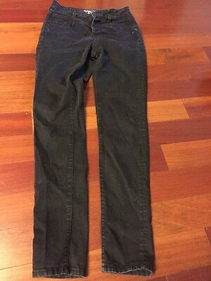 Women's Size 2 Black High Waisted Skinny Jeans