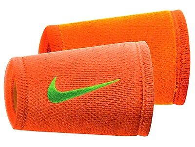 Nike Adults' Dri-FIT Stealth Double Wide Tennis Wristbands NNNF9846OS