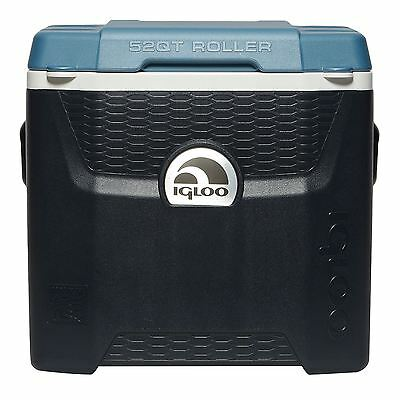 Igloo Cool Box Maxcold Quantum 49L Roller Coolbox Holds Ice upto 5 days